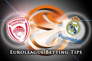 Olympiacos Piraeus v Real Madrid Betting Tips