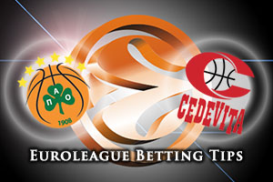 Panathinaikos Athens v Cedevita Zagreb Betting Tips