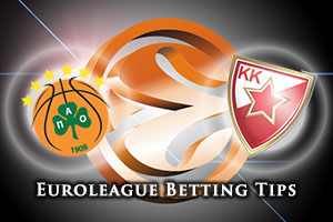Panathinaikos Athens v Crvena Zvezda Telekom Belgrade Betting Tips