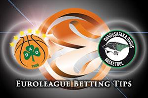 Panathinaikos Athens v Darussafaka Dogus Istanbul Betting Tips