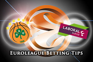 Panathinaikos Athens v Laboral Kutxa Vitoria Gasteiz Betting Tips