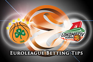 Panathinaikos Athens v Lokomotiv Kuban Krasnodar Betting Tips