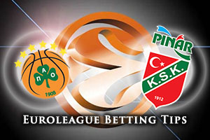 Panathinaikos Athens v Pinar Karsiyaka Izmir Betting Tips