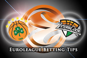 Panathinaikos Athens v Stelmet Zielona Gora Betting Tips
