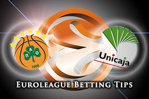 Panathinaikos Athens v Unicaja Malaga Betting Tips