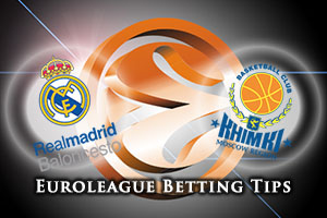 Real Madrid v Khimki Moscow Region Betting Tips