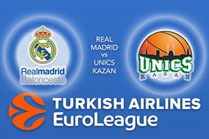 Real Madrid v UNICS Kazan