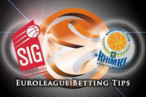 Strasbourg v Khimki Moscow Region Betting Tips