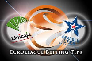 Unicaja Malaga v Anadolu Efes Istanbul Betting Tips