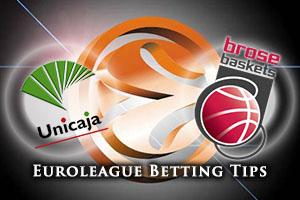 Unicaja Malaga v Brose Baskets Bamberg Betting Tips