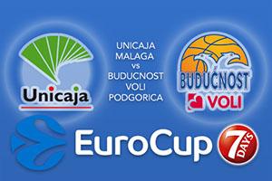 Unicaja Malaga v Buducnost VOLI Podgorica