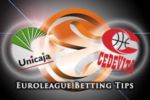 Unicaja Malaga v Cedevita Zagreb Betting Tips