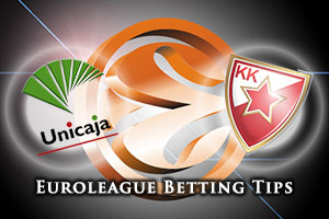 Unicaja Malaga v Crvena Zvezda Telekom Belgrade Betting Tips