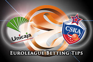 Unicaja Malaga v CSKA Moscow Betting Tips