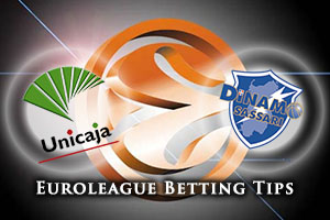 Unicaja Malaga v Dinamo Banco di Sardegna Sassari Betting Tips