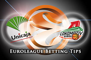 Unicaja Malaga v Lokomotiv Kuban Krasnodar Betting Tips