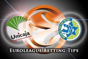 Unicaja Malaga v Maccabi FOX Tel Aviv Betting Tips