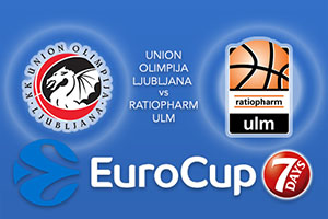 Union Olimpija Ljubljana v ratiopharm Ulm