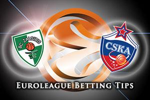 Zalgiris Kaunas v CSKA Moscow Betting Tips