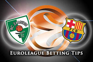Zalgiris Kaunas v FC Barcelona Lassa Betting Tips