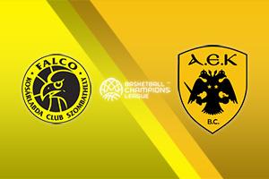 Falco Szombathely vs AEK Athens