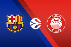FC Barcelona vs. AX Armani Exchange Milan