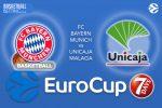 28 February 2017 EuroCup Quarter Final – FC Bayern Munich v Unicaja Malaga