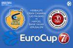 3 March 2017 EuroCup Quarter Final – Herbalife Gran Canaria Las Palmas v Hapoel Bank Yahav Jerusalem