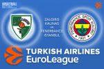 2 March 2017 Euroleague – Zalgiris Kaunas v Fenerbahce Istanbul
