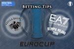 Dolomiti Energia Trento v EA7 Emporio Armani Milan - 15 March 2016 Eurocup Quarter Final