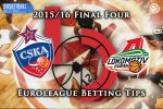 13 May Euroleague Final Four Semi Final B – CSKA Moscow v Lokomotiv Kuban Krasnodar