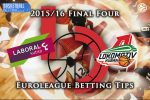 15 May 2016 Euroleague Final Four Third & Fourth Game – Laboral Kutxa Vitoria Gasteiz v Lokomotiv Kuban Krasnodar