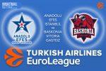 24 February 2017 Euroleague – Anadolu Efes Istanbul v Baskonia Vitoria Gasteiz