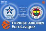 23 March 2017 Euroleague Tips – Anadolu Efes Istanbul v Fenerbahce Istanbul