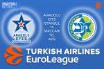 16 March 2017 Euroleague – Anadolu Efes Istanbul v Maccabi FOX Tel Aviv