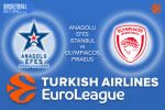 26 April 2017 Euroleague Playoffs Tips – Anadolu Efes Istanbul v Olympiacos Piraeus