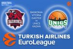 5 January 2017 Euroleague Tips – Baskonia Vitoria-Gasteiz v Unics Kazan