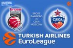 1 December 2016 Euroleague Tips – Brose Bamberg v CSKA Moscow