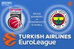 16 March 2017 Euroleague – Brose Bamberg v Fenerbahce Istanbul
