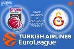 6 April 2017 Euroleague Tips – Brose Bamberg v Galatasaray Odeabank Istanbul