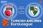 24 February 2017 Euroleague – Brose Bamberg v Zalgiris Kaunas