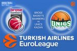 20 October 2016 Euroleague Predictions – Brose Baskets Bamberg v UNICS Kazan
