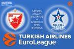 3 February 2017 Euroleague Tips – Crvena Zvezda mts Belgrade v Anadolu Efes Istanbul