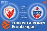 29 December 2016 Euroleague Tips – Crvena Zvezda mts Belgrade v CSKA Moscow