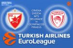 22 March 2017 Euroleague Tips – Crvena Zvezda mts Belgrade v Olympiacos Piraeus