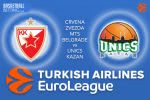 31 March 2017 Euroleague Tips – Crvena Zvezda mts Belgrade v Unics Kazan