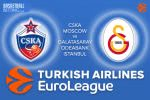 9 March 2017 Euroleague – CSKA Moscow v Galatasaray Odeabank Istanbul