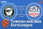 20 October 2016 Euroleague Predictions – Darussafaka Dogus Istanbul v EA7 Emporio Armani Milan