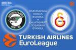 24 March 2017 Euroleague Tips – Darussafaka Dogus Istanbul v Galatasaray Odeabank Istanbul