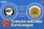 3 March 2017 Euroleague – Darussafaka Dogus Istanbul v Panathinaikos Superfoods Athens